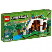 Set de constructie LEGO Minecraft Baza de la Cascada