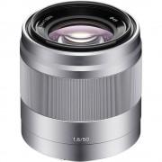 Sony 50mm F1.8 OSS Obiectiv Sony E, Argintiu
