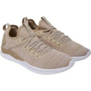 Puma IGNITE Flash evoKNIT Running Shoes For Men(Beige)