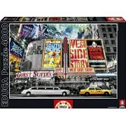 Educa New York Theatre Signs Puzzle, 4000 Piece