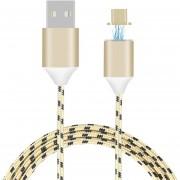 Louiwill 3.3 Pies Cable De Carga USB Trenzado De Nilón Magnético Con Carga Rápida Y Sincronización Para Samsung Galaxy S2 S3 S4 S6, Nota 2/3/4/5, LG G4 G3, Sony Xperia Z5 Premium / Compact Etc