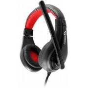 Casti Gaming cu Microfon SBOX HS-1520 (Negru/Rosu)