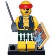 Идентифицирана минифигурка Лего Серия 16 Пират - Lego series 16 Scallywag Pirate, 71013-9