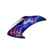 Airbrush FG Night Blaze Canopy Set : BLADE MCPX