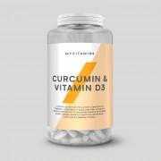 Myvitamins Cúrcuma & Vitamina D3 - 180capsules