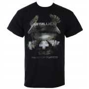 tričko pánské Metallica - Master Of Puppets - Distressed - Black - RTMTLTSBMDIS