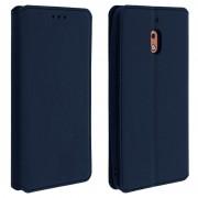 Avizar Funda Libro Cartera con Soporte Azul para Nokia 2.1
