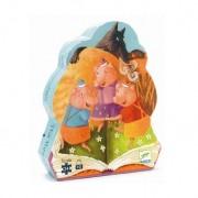 Puzzle Djeco - Cei 3 purcelusi