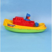 Geen Speelgoed sleepboot 30 cm