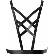 Bijoux Indiscrets Body harness Bijoux Indiscrets Maze Cross Cleavage Harness Nero