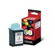 Lexmark 60 Cartucho de tinta (Lexmark 17G0060) color