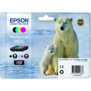 Epson T2636 zwart and Tri-Colour XL