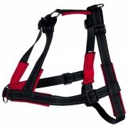 TRIXIE Harness Lead'n'Walk Soft Size S-M 45-70 cm Black 13055