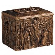 Bronzen Kist Urn De Kruisiging (5 liter)