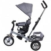 Tricicleta copii 12 luni - 36 luni Confort Plus Sun Baby Melange Gri