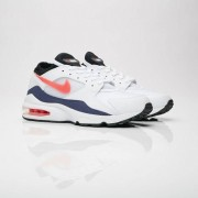 Nike Air Max 93 White/Habanero Red/Neutral Indigo/Black