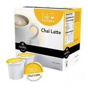 Keurig Cafe Escapes Tea K-Cups Chai Latte Black 16 Count