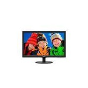 Monitor 23,6 Led Philips - Hdmi - Full HD - Multimidia - Dvi - Vesa - 243v5qhaba