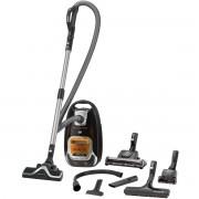 Aspirator cu sac Rowenta Silence Force 4A+ RO6495EA, 4.5 L, 550 W, Sac Hygiene+, Negru/portocaliu