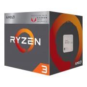 Procesor AMD Ryzen 3 2200G BOX, s. AM4, 3.7GHz, 6MB cache, 4 Jezgre, RX Vega, Wraith Stealth cooler