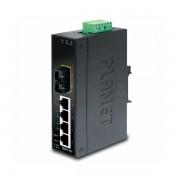 Planet Industrial 5-port 4x 100Mbps RJ45 1x 100Mbps SM FXSC 15km Switch, -4075C unmanaged PLT-ISW-511TS15