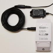 Sonoff TH-3M - Predlžovací kábel senzorov - 3m
