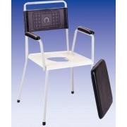 Tusoló- Wc szék, fix lábú (HCDA)