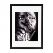 Fotolijst Utrecht - zwart - 50x70 cm - Leen Bakker