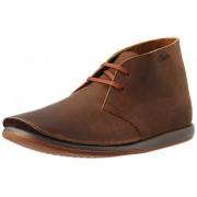 Clarks Men's Newton Mass Beeswax Leather Boots - 10 UK