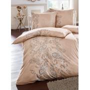 Estella Bettbezug ca. 135x200cm, Kissenbezug ca. 80x80cm Estella beige Wohnen beige
