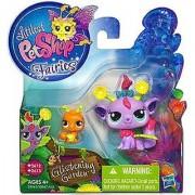 Littlest Pet Shop Fairies Glistening Garden Enchanted Figure Daisy Fairy with Ant