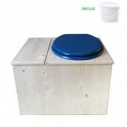 Toilette sèche - La Bac bleu nuit