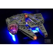 Millennium Falcon Lighting Kit for Lego 75105 Set (LEGO set Not Included) by Brick Loot