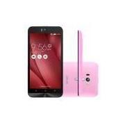 Smartphone Asus Zenfone Selfie 32GB Rosa 4G Tela 5.5 Câmera 13MP Android 5.0