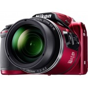 Nikon Coolpix B-500 Digitale camera 16 Mpix Zoom optisch: 40 x Rood Full-HD video-opname, Klapbaar display, Bluetooth