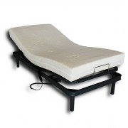 Venta de colchones Camas articuladas eléctrica 90x190 más colchón viscoelástico desenfundable.