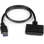 StarTech USB 3.0 to 2.5 SATA III Hard Drive Adapter Cable w/ UASP - SATA to USB 3.0 Converter for SSD/HDD