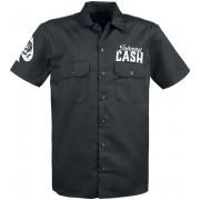 Johnny Cash Man In Black - Herren-Kurzarmhemd - Offizielles Merchandise S, M, L, XL, XXL, 3XL Herren