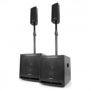 "VX1000BT Set Altoparlanti Attivi 2.2 1000W Subwoofer 10"" BT USB SD MIC AUX"
