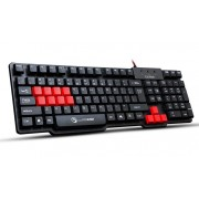 Tastatura USB MARVO K201 US Gaming, crna