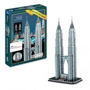 Petronas Twin Towers 3 D Puzzle (86 Pcs)