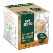 """Café Liégeois Coffee capsules Café Liégeois """"Café au lait"""", 16 pcs."""
