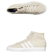 Adidas Originals Mens Matchcourt High Rx2 Shoe Clear Brown White