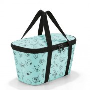 reisenthel Kühltasche coolerbag XS cats and dogs mint
