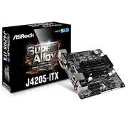 ASRock J4205-ITX Moederbord, zwart/grijs/bruin/rood