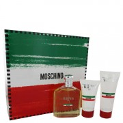 Moschino Friends Eau De Toilette Spray 4.2 oz / 124.21 mL + After Shave Balm 1.7 oz / 50.27 mL + Shower Gel 3.4 oz / 100.55 mL G