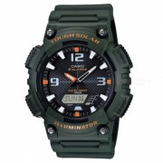 Casio AQ-S810W-3AVDF resistente reloj solar - verde / negro (sin caja)