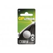 Baterie buton cu litiu CR2016 GP LITHIUM 3V/90 mAh