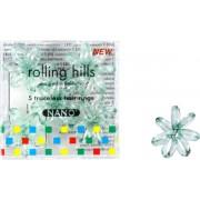 Rolling Hills Professional Hair Rings Nano Transparent Green Haargummi