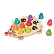 Janod Wooden Number Hedgehog Playset